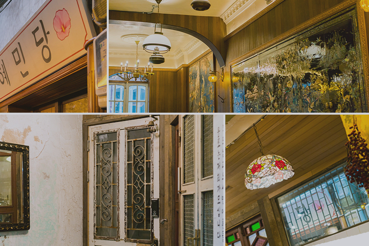 뉴트로 콘셉트의 카페나 레스토랑
